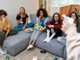 Young people smoking using bongs
